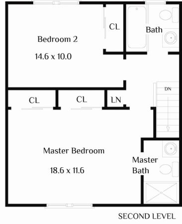 Floor plan Second Floor