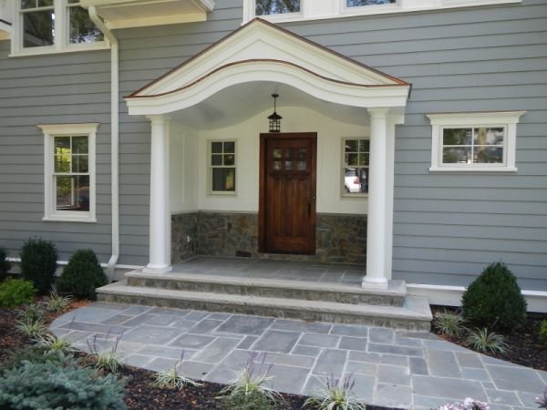 Front Entrance - Charming covered entry