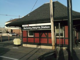 Train Station Berkeley Heights NJ